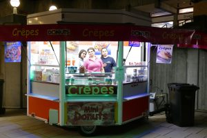 Donuts & Crepes Stand