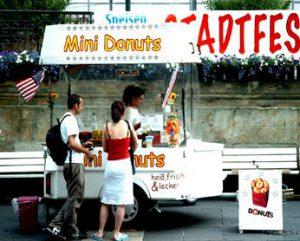 Kleiner Donuts Stadt